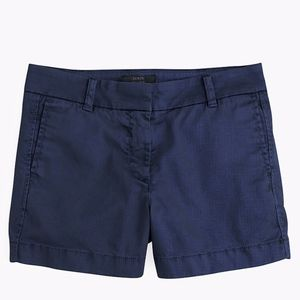 J. Crew Women's Navy Chino Shorts
